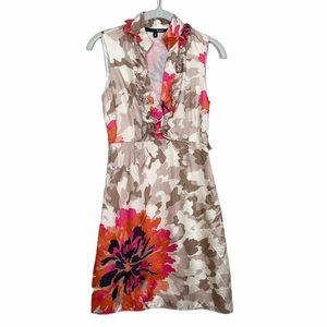Liquid Silk Mercer Floral Dress 0